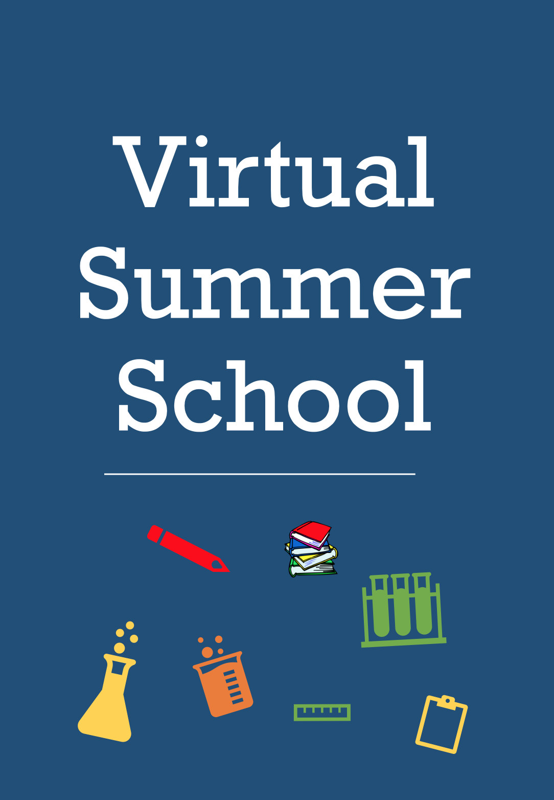 This is the image for the news article titled CCPS Virtual Summer School